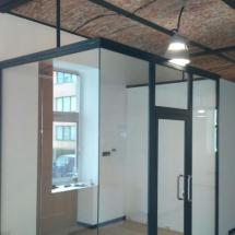 košice sklenené deliace steny